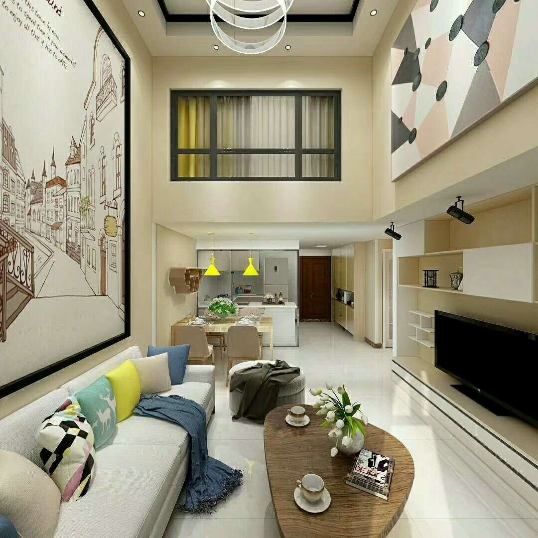 首付分期精品阔气loft公寓,4.7米层高,70年产权