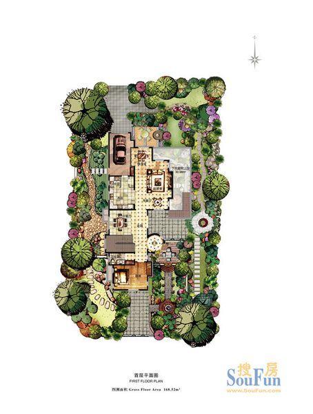 大独栋大花园别墅 温泉入户 现房 总价1100万起