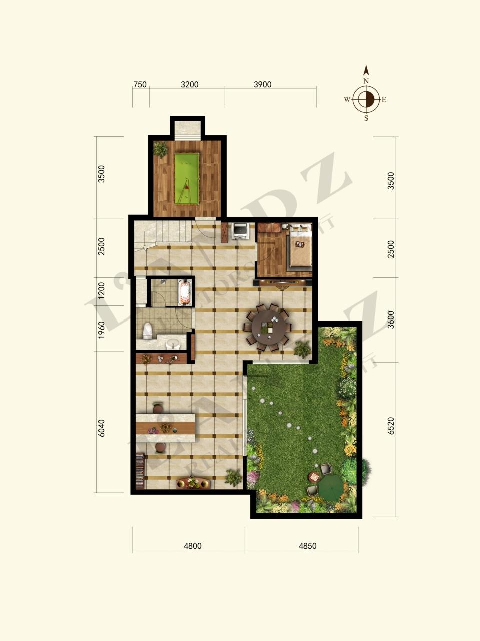 70方别墅平面设计图
