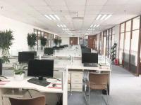国贸汉威大厦 高层380平带装修家具 适合外企办公5