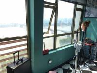 华远华中心 解放西 湘江边上 江岸丽都 办公工作室二房。