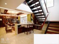 绿城桃李春风4拼别墅小户型现房,东南亚风格面积附送1比1.5