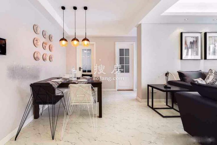 100平现代简约风格三居室